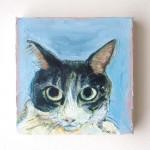 ペット 絵画・肖像画 ナチュラルS猫