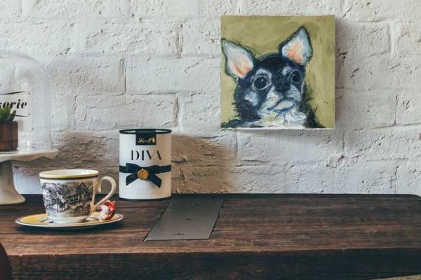 ペット 絵画・肖像画 パステルS犬イメージ画像02