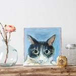 ペット 絵画・肖像画 ナチュラルS猫 イメージ画像02
