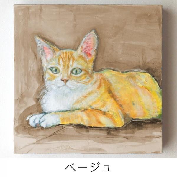 ペット 絵画・肖像画ナチュラルM ベージュ