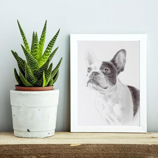 デッサン犬サンプル2