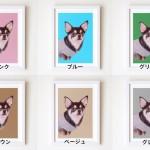 カラーサンプル色鉛筆画YUMI
